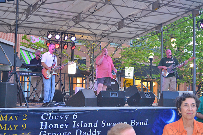 Chevy 6 rolls out the good times at Brookwood Village during one of their Brookwood Nights free concerts.