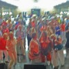 Chevy 6 band prompts a blurry picture of THS '73.