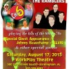 Poster for Chevy 6 / The Ramblers at WorkPlay in Birmingham